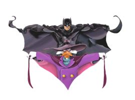 Batman and Darkwing Duck by samuraiminister