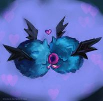Woobat love. by Chukairi