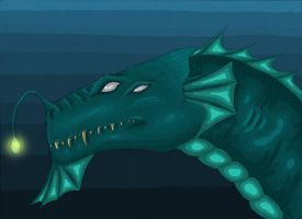 River Dragon by EnigmaticElocution