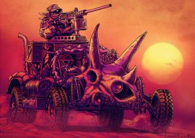 TORO Armored Dune Buggy by RyanLovelock