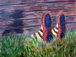 The Feet That Protrude by DeathlySilent