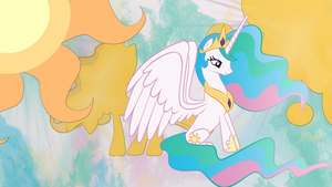 Princess - Celestia Wallpaper by Chadbeats