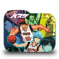 Kuroko no Basket Folder Icon by AinoKanade