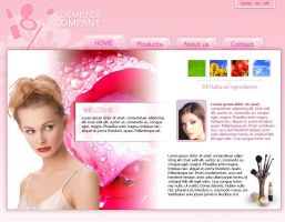 Cosmetics Flash Layout by pixelbudah
