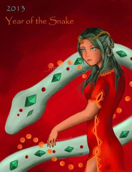 Year of the Snake 2013! by FireGemini