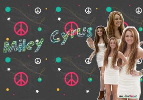 Miley Cyrus wallpaper by one-directioner