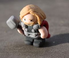 Mighty Thor by Debra-Marie