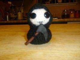 Baby Grim Reaper by LadyCaitlin55