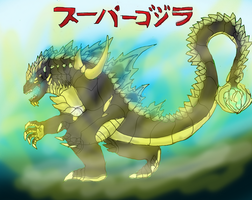 Super Godzilla 2014 by brunolin