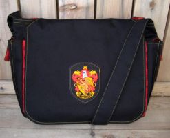 New Gryffindor Bookbag by Groovygirlsuzy17