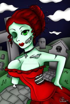 Zombie Prostitute by the-hangman-project