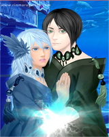 Erich and Aqua by moonofheaven1