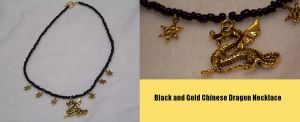 Chinese Dragon Necklace by Fruits-Punch-Samurai
