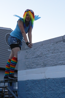 Rainbow Dash Cosplay Preview by ZephZombieCat