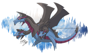 Mega Hydreigon by Blood-Asp0123