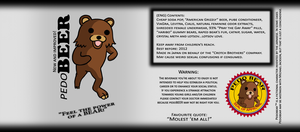 pedoBEER label by xQUATROx