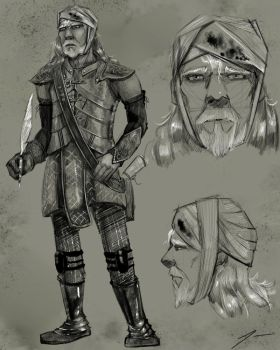 The Dwarves of Demrel:  Drusson by Tenorio