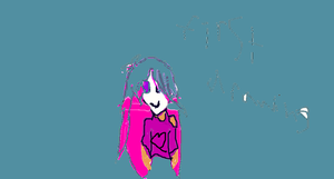 first drawing on computer ever by samsinner