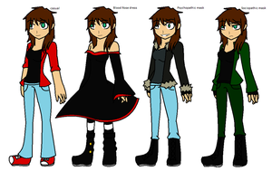 Becky/Blood Rose/TheHellFirePrincess new ref by LethalWeapon07