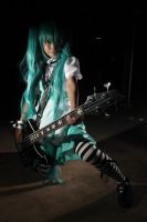 Vocaloid, Hatsune Miku photosession by psycomeh