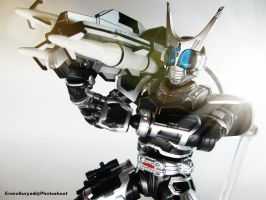 SHF Kamen Rider G4 from Kamen Rider Agito Movie by WINDEARTFLY