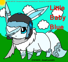 Little Baby Blue by AnaKyonshi