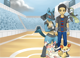 Victor the pokemon trainer by DragonTeens