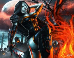 Too hot to burn by Emortal982