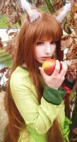 Take an apple [Spice and wolf] by Milukyo