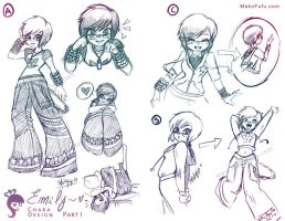 Emily: Chara Design - PART I by Mako-Fufu