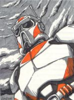 Orange Trooper by Underbase