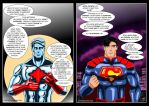 Captain Atom/Superman - Truth by adamantis