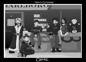 A Clerks Christmas by aStrangerInParadise