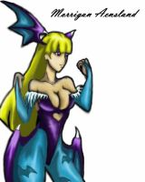 Morrigan Aensland Alt. color by Sinned-Sama