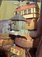 Moving Castle Hut Closeup by Dreamparacite