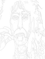 Frank Zappa 1 Pen by daylover1313