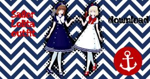 Sailor Lolita outfits - Download by YamiSweet