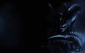 Gigers Alien - Xenomorph by Candlejacky