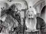 Dwalin and Balin (The Hobbit) by ochopanteras