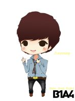 Baby Good Night - Jinyoung by nday