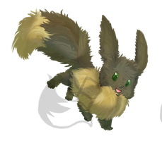 Eevee by FrightFox