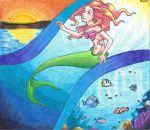 Trapped in Dark Sunny Waters by sergaz