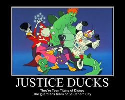 DW Motivator: Justice Ducks by Porn1315