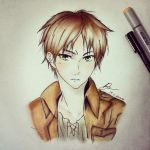 Eren-- by StrawberriNinja