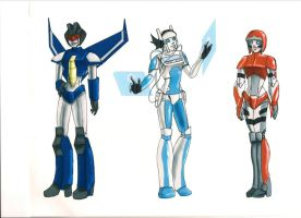 Transformers Femmes by Jovianwolfgirl