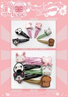Kawaii Hair Clip Snaps - NOW IN STORE!!! by TomodachiIsland