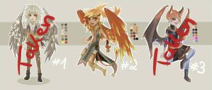 OTA: Winged adopts [1/3 OPEN] by Cyleana