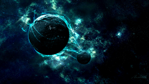 Planet Nebula Wallpaper by AlexArtsC4D