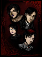 goth kids by SUCHanARTIST13