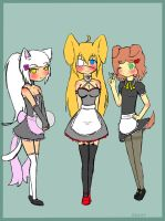 Maids by ToxicNiko